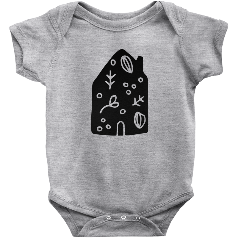 Hand Drawn Graphic Home Bodysuit