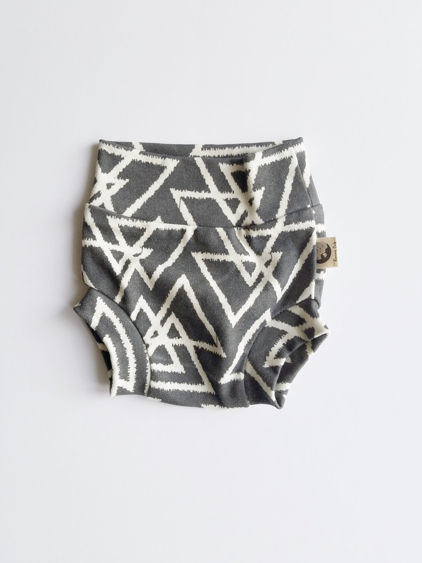 NEWBORN DIAPER COVER | BUMMIES - TRIBAL TRIANGLES