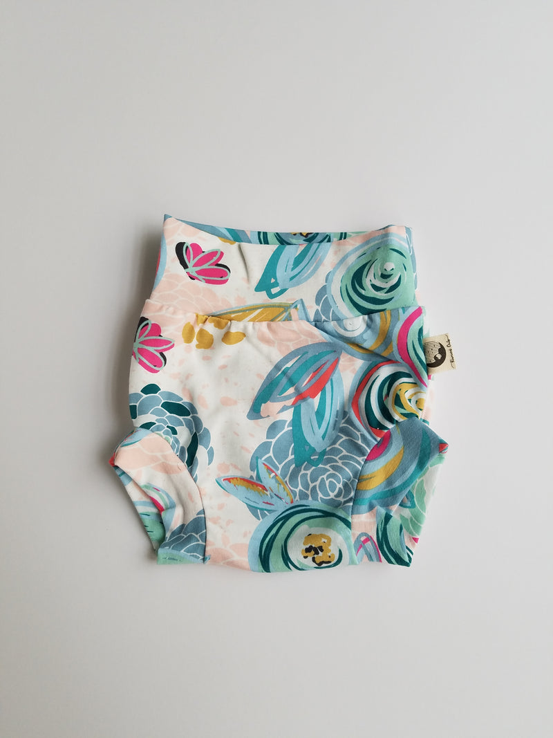 DIAPER COVER | BUMMIES - BLUE FLORAL