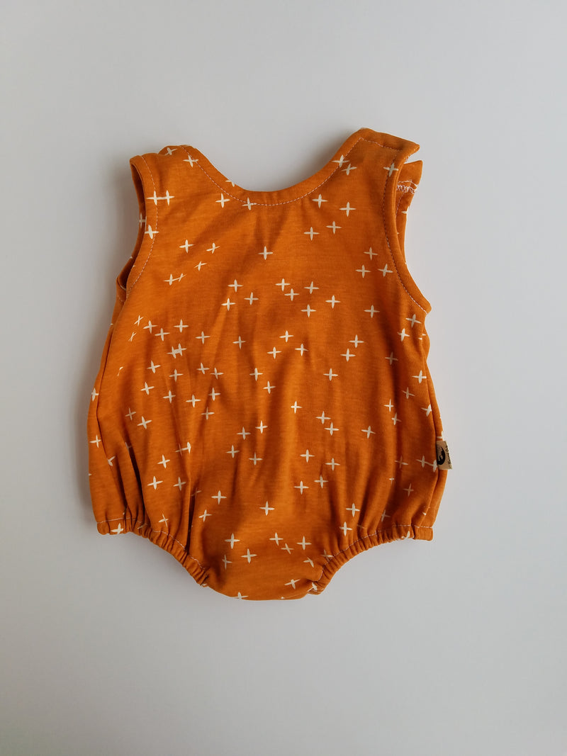 ROMPER - TEXAS ORANGE
