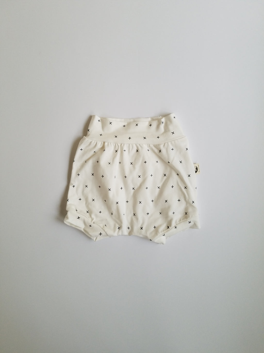 DIAPER COVER | BUMMIES - CREAM CROSS