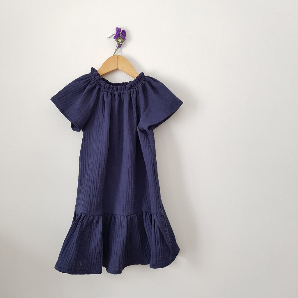 GRETA DRESS, inky