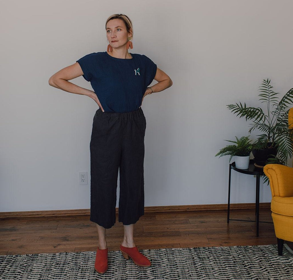 BLYTHE pant, iron ore one xs left!