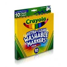 Crayola Ultra-Clean Washable Markers, 10 Count