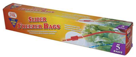 Zip Top Bags - 2.5 Gallon