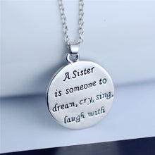 Sister Love Necklace Back | What to get your sister for christmas | Present Pal