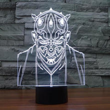 3D Illusion Lamp - Movies