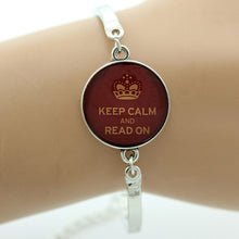 Keep Calm Bracelet Silver | Present Pal