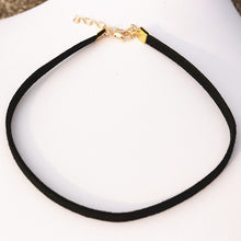 Choker Necklace with Gold Coloured Clasp | 90s Choker | Present Pal
