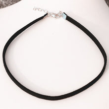 Choker Necklace with Silver Coloured Clasp | 90s Choker | Present Pal
