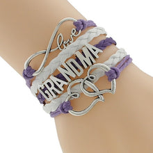 Purple I Love Grandma Bracelet | Present Pal