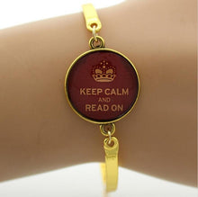 Keep Calm Bracelet Gold | Present Pal