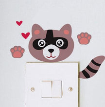 Hello I'm a Cat 1 Light Switch Sticker | Cat Theme | Present Pal