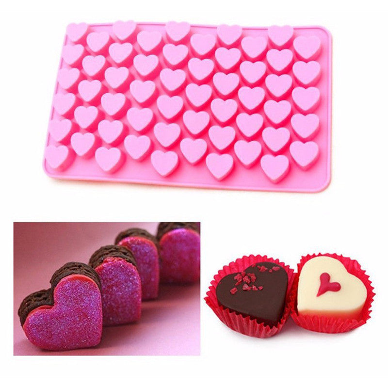 Heart-Shaped Chocolate Mould with Chocolates | Present Pal