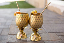 Gold Pineapple Drinks waiting to be drunk | Great Present Ideas | Present Pal