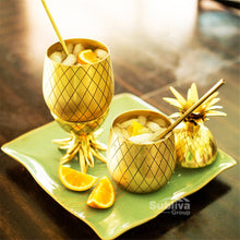 Gold Pineapple Cup served with Fruit | Great Present Ideas | Present Pal