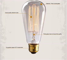 Edison Light Bulb Description | Present Pal