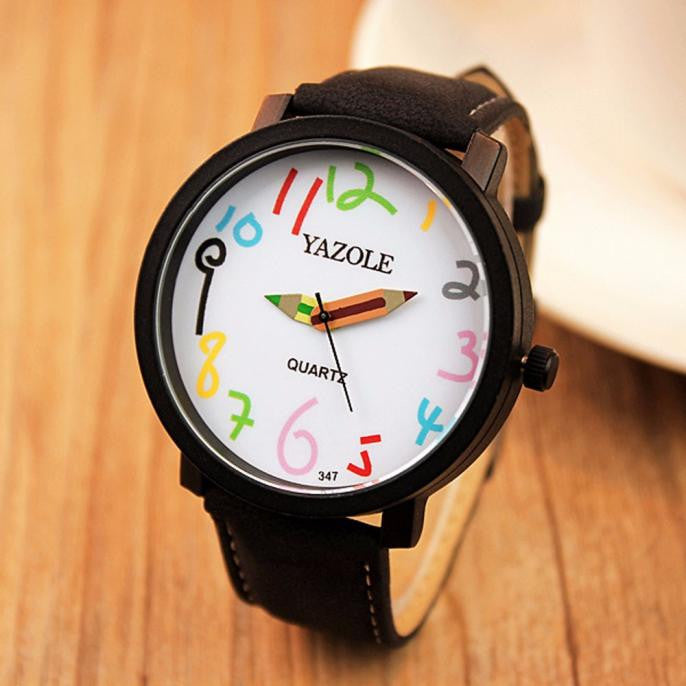 Creative Watch Black Strap | Present Pal