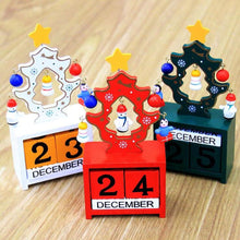 Mini Wood Advent Calendar