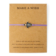 "Violet ""Make a Wish"" Turtle Bracelet 