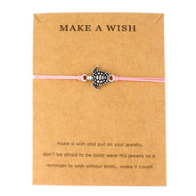 "Light Pink ""Make a Wish"" Turtle Bracelet 