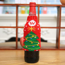 Christmas Tree Wine Bottle Cover | Christmas Decorations | Present Pal