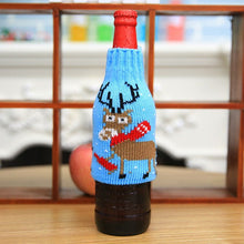 Reindeer Wine Bottle Cover | Christmas Decorations | Present Pal