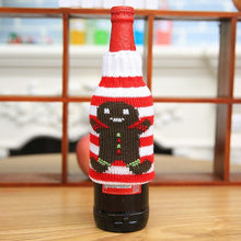Gingerbread Man Wine Bottle Cover | Christmas Decorations | Present Pal