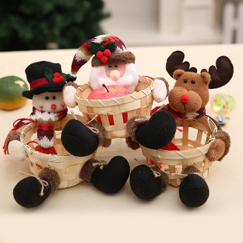 Santa, Rudolph and Snowman Seasonal Storage | Present Pal