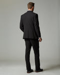 Black Tour Stretch Modern Fit 1-Pant Suit