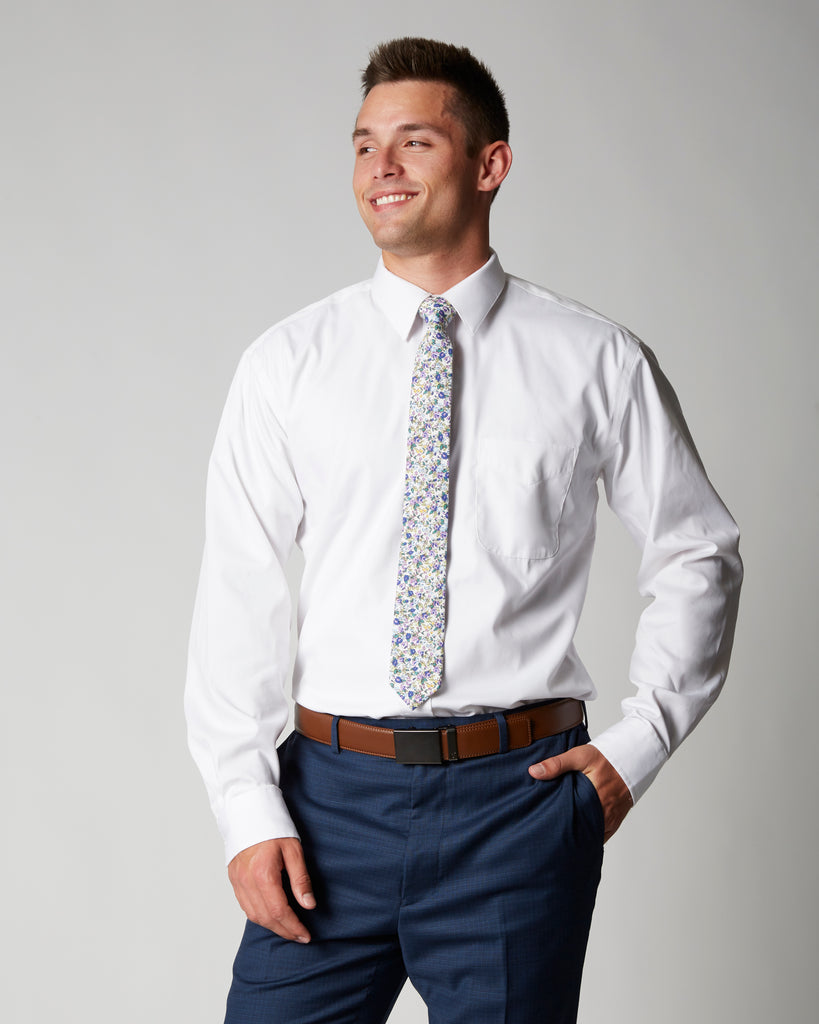 Tailored Fit Missionary Non Iron Dress Shirt Modern Missionary
