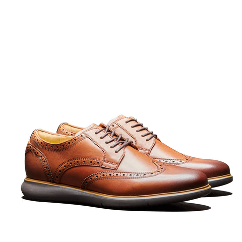 Florsheim Fuel Wingtip Oxford Brown