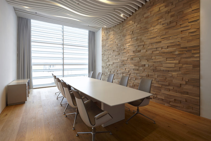 White Glass Boardroom Table