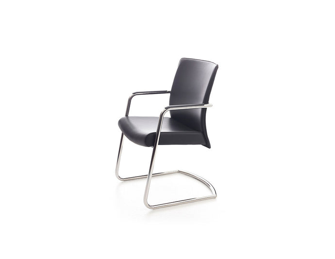 The Solo Flight Guest Chair - Faux Leather
