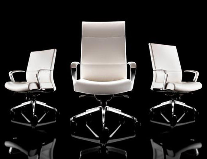 Solo Flight Executive Chair - Genuine Leather