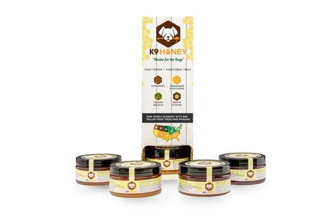Six Pack Dispensers of K9 Honey (6oz) - K9 Honey