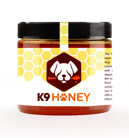 Raw Honey for Dogs - Allergy Relief for Dogs - 24oz - K9 Honey