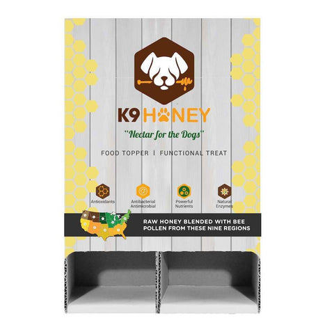 SuperZoo | 12-Pack Dispenser (12oz) - K9 Honey