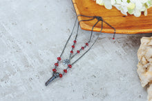 Load image into Gallery viewer, Eye See You Gemstone Crystal Necklace