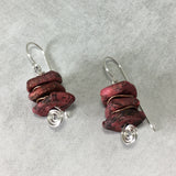 Rustic Stacker Earrings