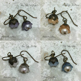 Petite Tulip Earrings Assorted Colors