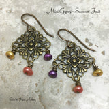 Mini Gypsy Earrings Assorted Colors