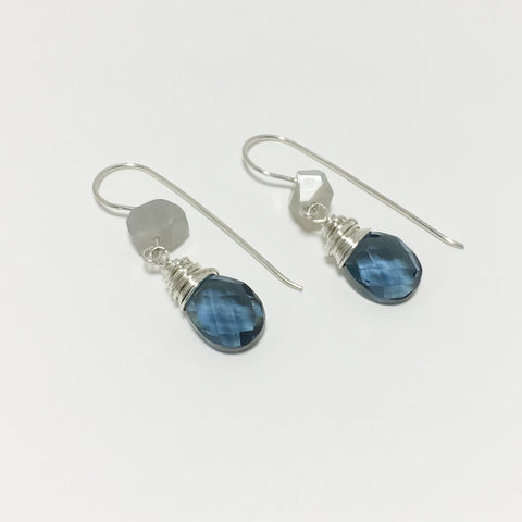 Blue Moon Gemstone Earrings