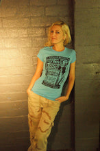 Ecstacy with ROXY! (Burlesque ad t-shirt)