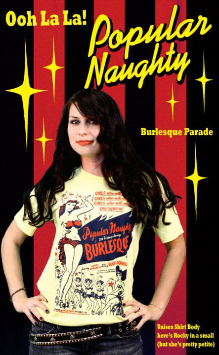 Popular Naughty - Burlesque Parade!