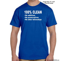 100% Clean - Na T-Shirt Syc S / Blue Shirts
