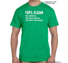 100% Clean - Na T-Shirt Syc S / Green Shirts