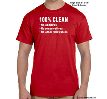 100% Clean - Na T-Shirt Syc S / Red Shirts