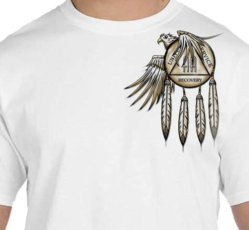 AA - Eagle & Shield  T's