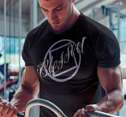 Blessed - Black T-shirt - nawears